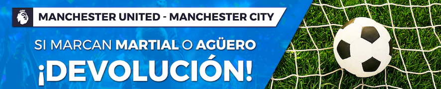 Manchester United v Manchester City oferta Pastón