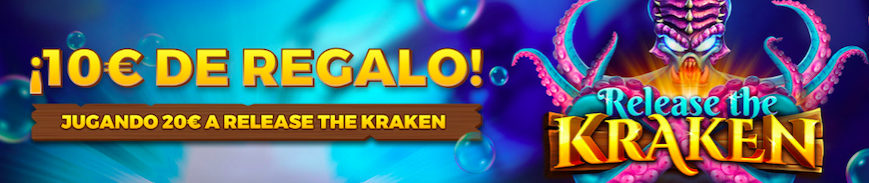 Release The Kraken bono Pastón