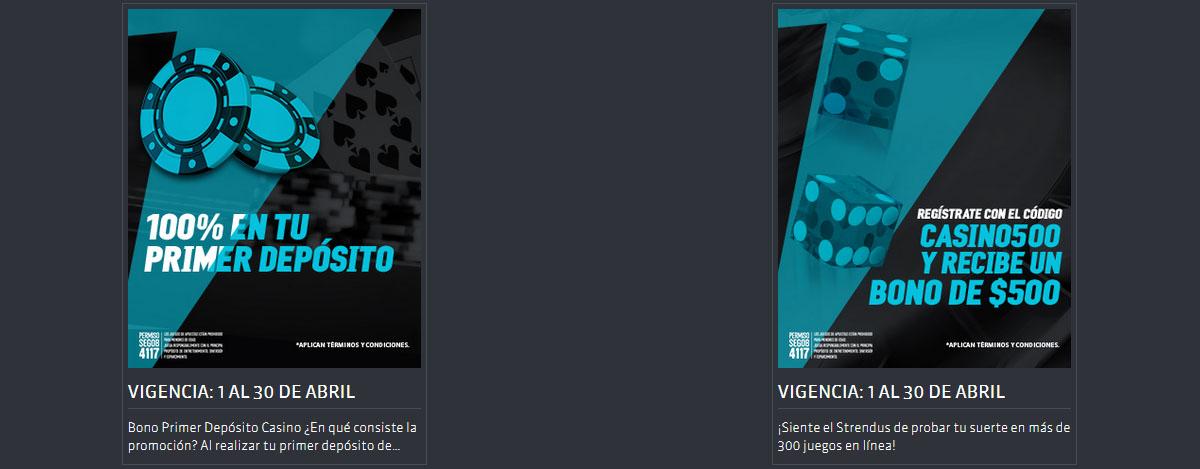 Bono Bienvenida Strendus casino