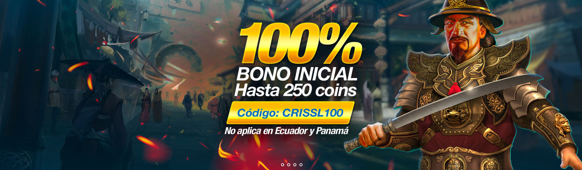 Bono de Bienvenida Betcris Casino