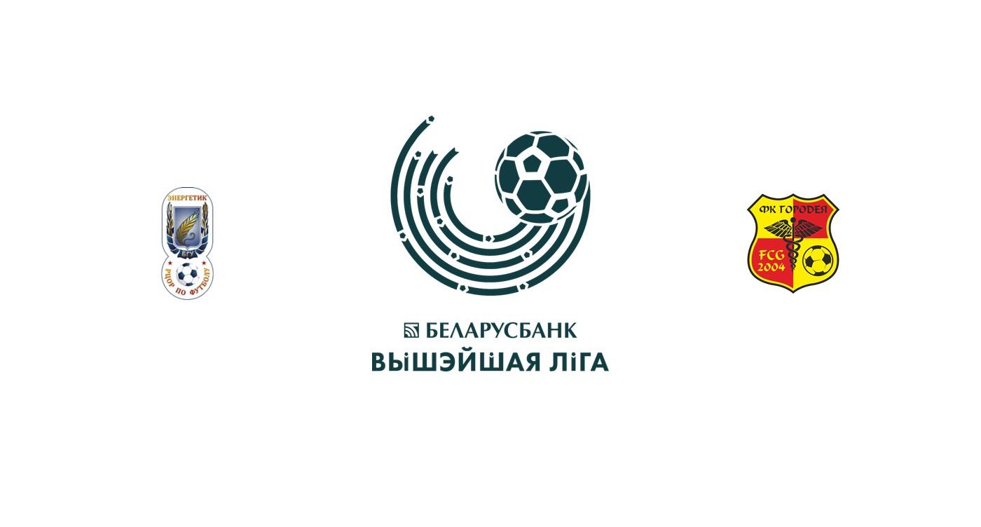 Energetik BGU vs FC Gorodeya
