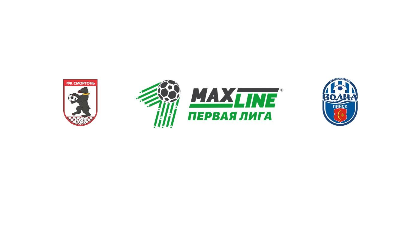 FC Smorgon vs Volna Pinsk