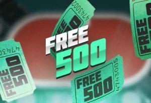 Free500 Bodog Póker