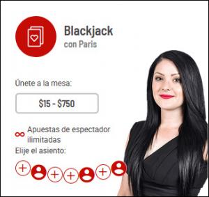 Live Blackjack Bodog casino
