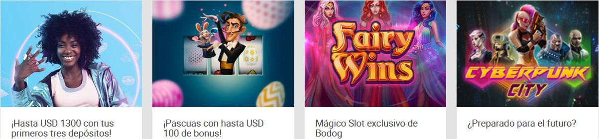 Promociones Bodog Casino