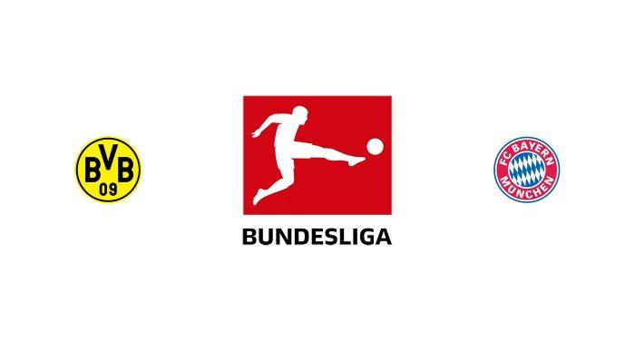 Borussia Dortmund vs Bayern Múnich Previa, Predicciones y Pronóstico 24-05-2020