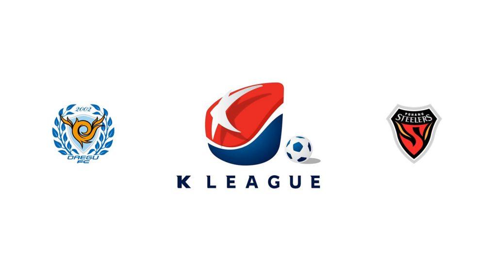 Daegu FC vs Pohang Steelers Previa, Predicciones y Pronóstico
