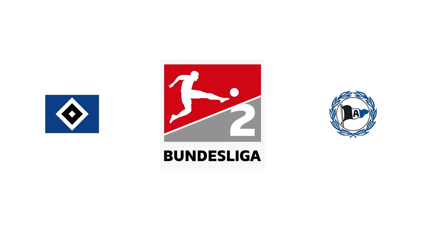 Hamburgo vs Arminia Bielefeld Segunda División Alemania