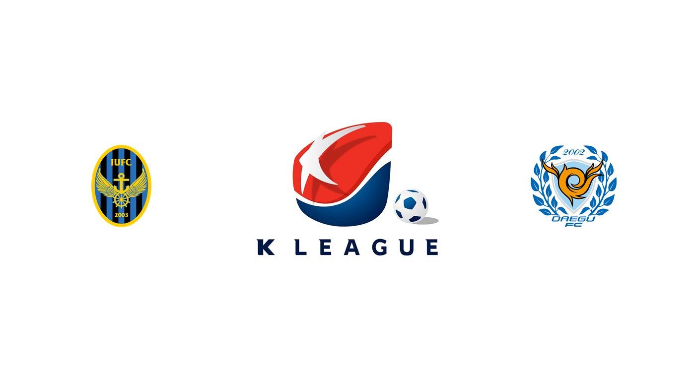Incheon United vs Daegu FC