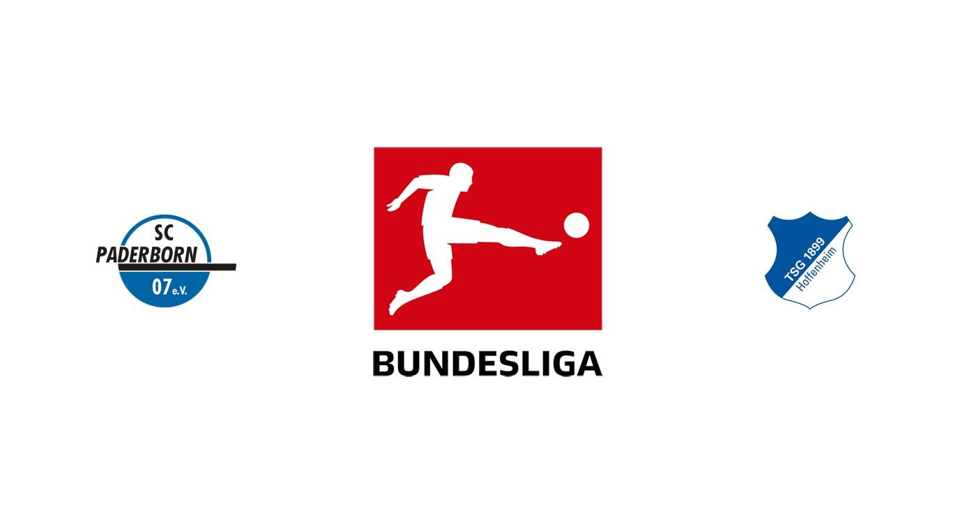 Paderborn vs Hoffenheim Liga alemana