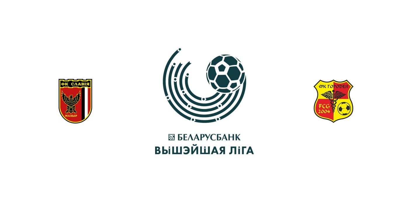 Slavia Mozyr vs FC Gorodeya