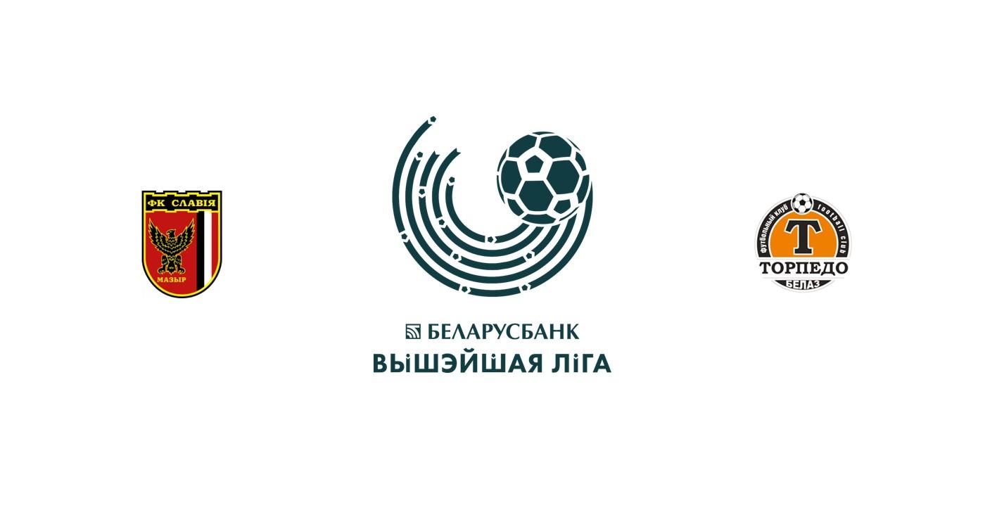 Slavia Mozyr vs Torpedo Belaz