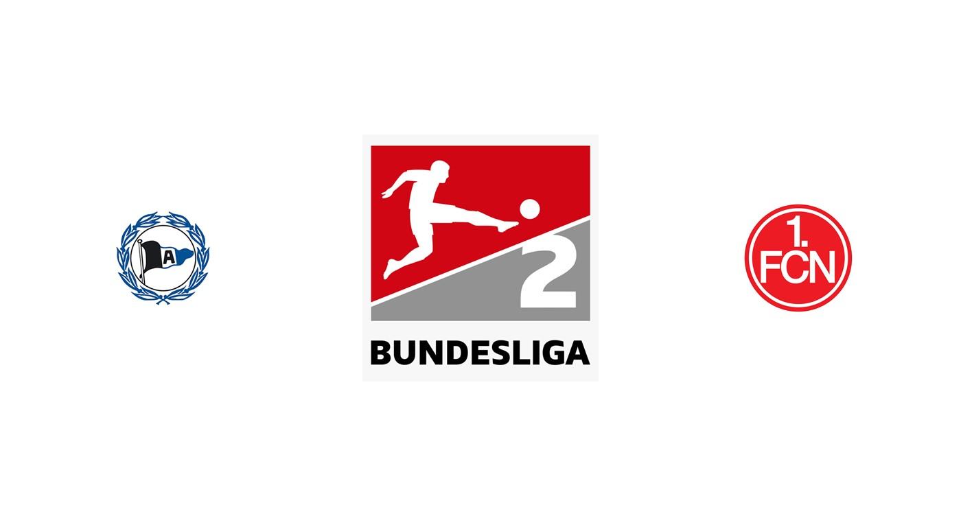 Arminia Bielefeld vs Núremberg