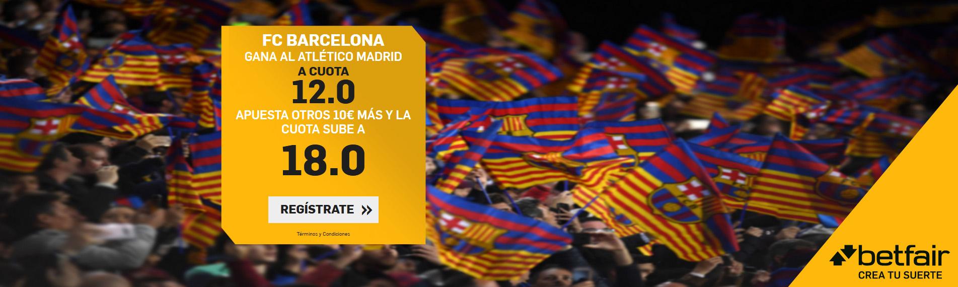 Barcelona gana a Atlético