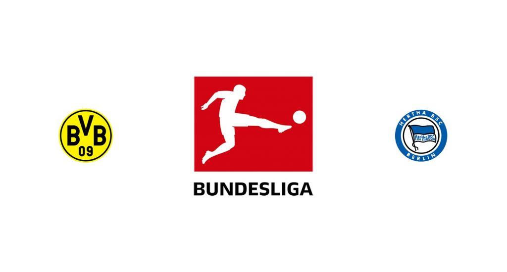 Borussia Dortmund vs Hertha Berlín Previa, Predicciones y Pronóstico
