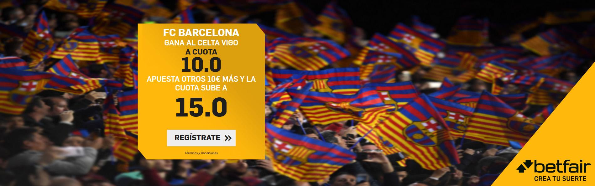 Cuota Mejorada Barcelona gana Celta 10