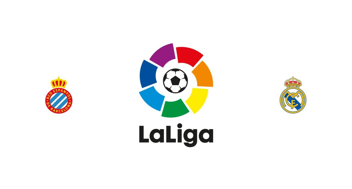 Espanyol vs Real Madrid Liga Santander