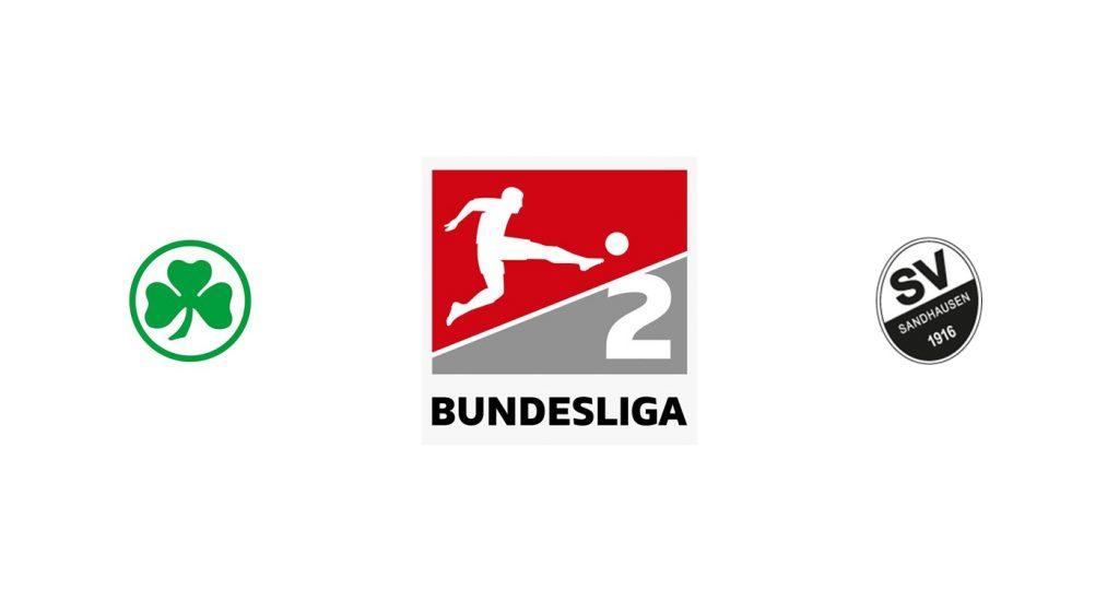 Furth FC vs SV Sandhausen Previa, Predicciones y Pronóstico
