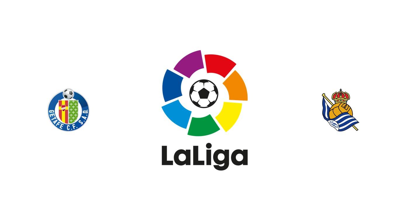 Getafe vs Real Sociedad Liga española