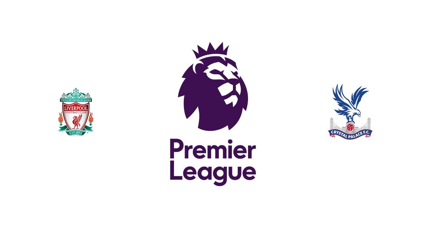 Liverpool vs Crystal Palace Liga inglesa