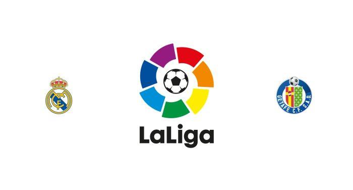 Real Madrid vs Getafe Previa, Predicciones y Pronóstico