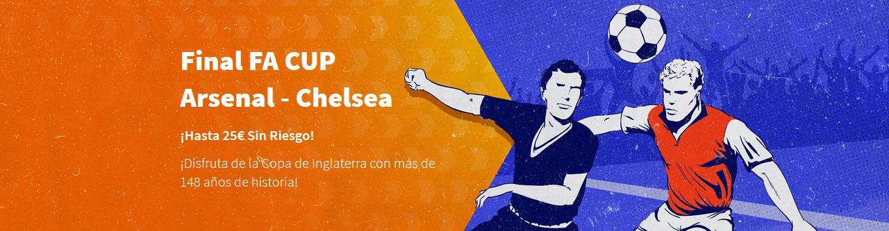 Arsenal vs Chelsea 25€ gratis Betsson