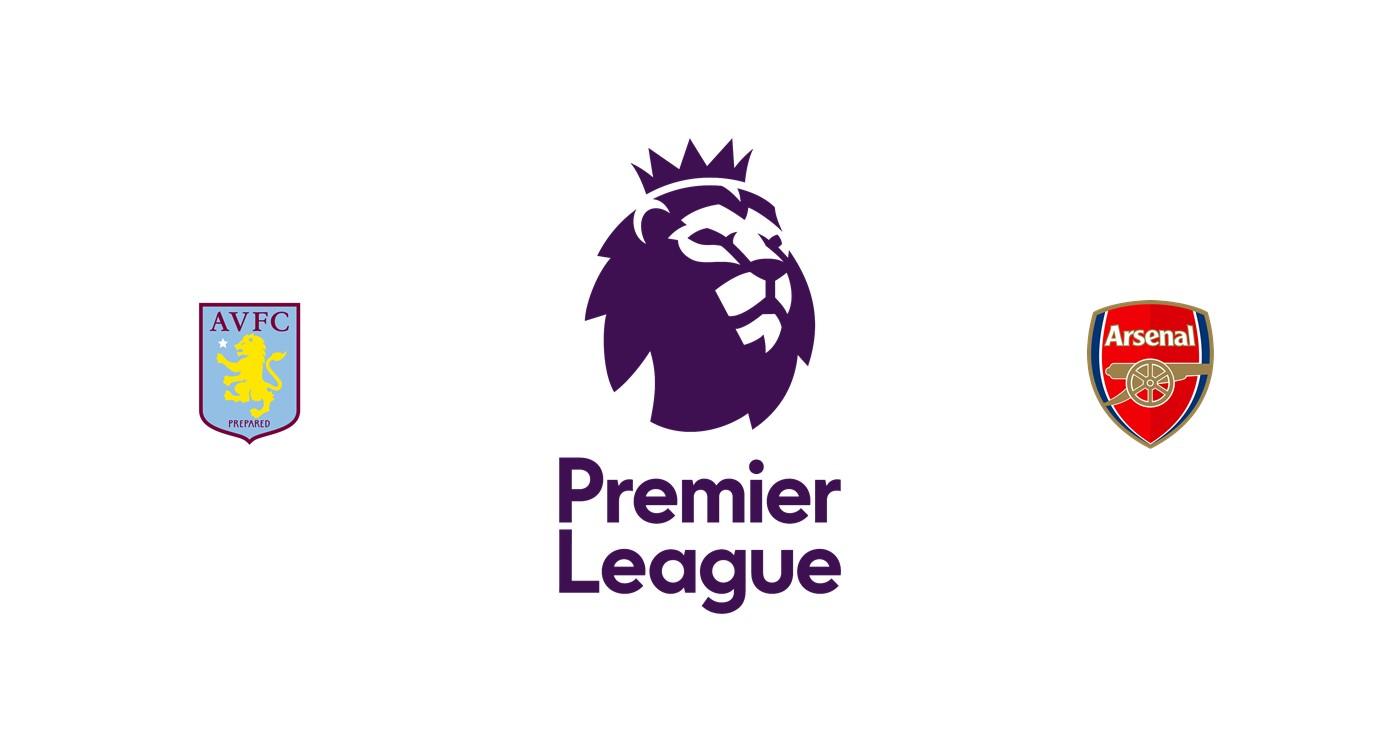 Aston Villa vs Arsenal Premier League