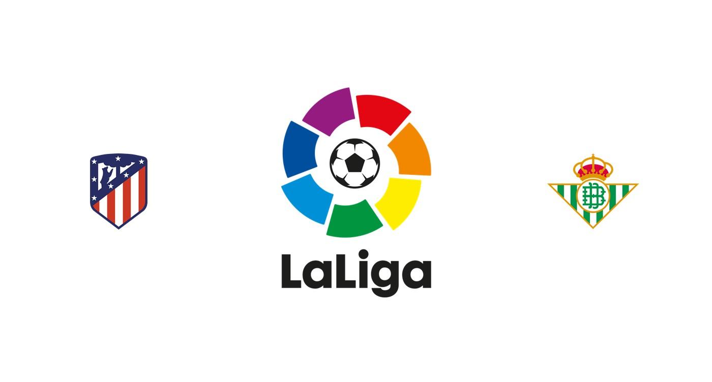 Atlético Madrid vs Betis Liga española