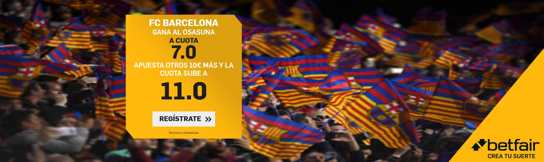 Barcelona gana a Osasuna