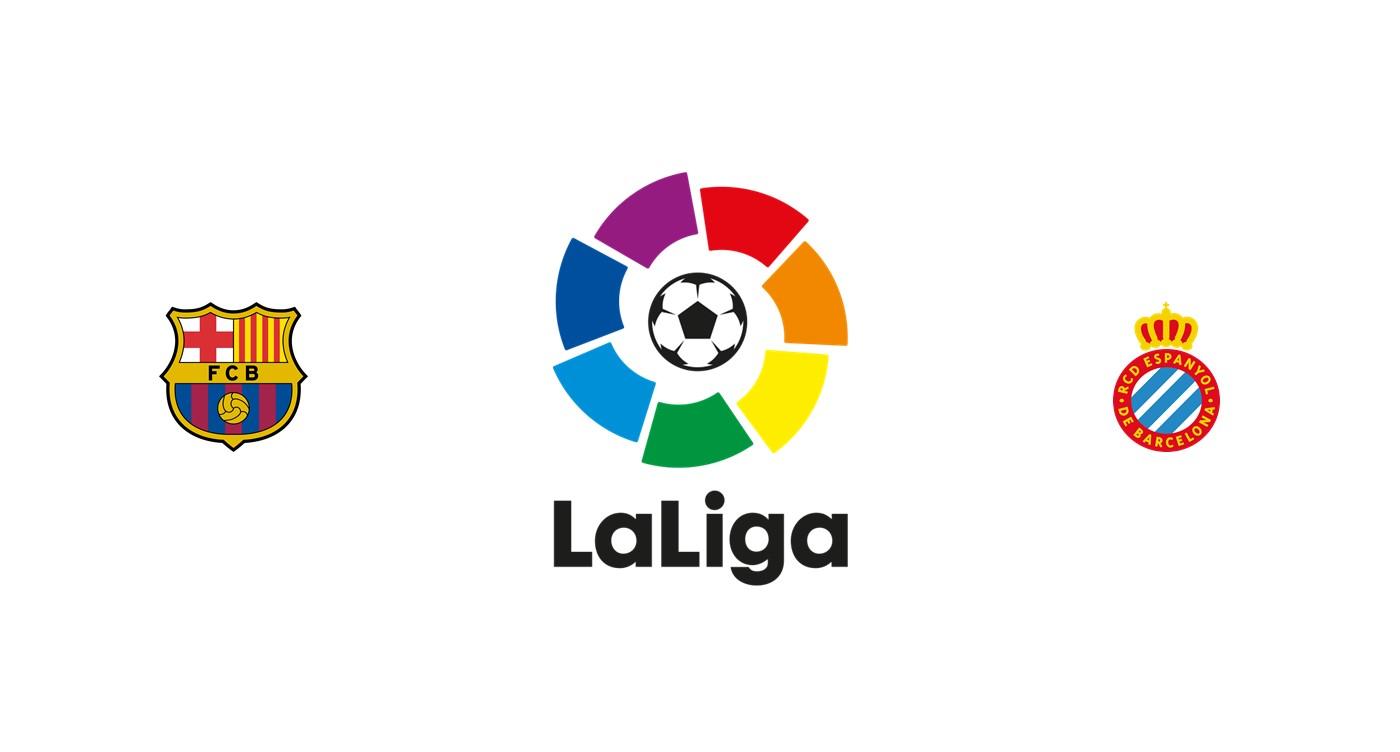 Barcelona vs Espanyol Liga Santander