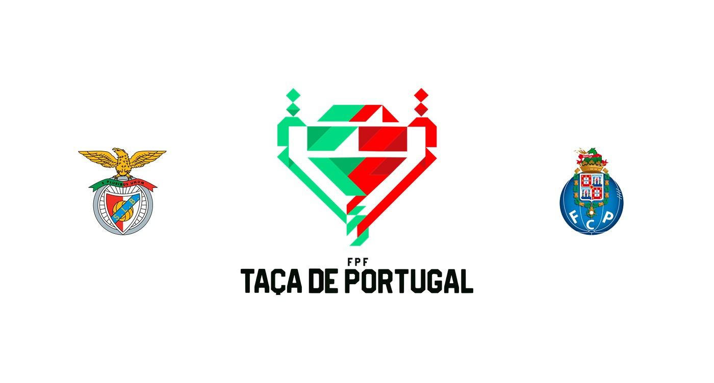 Benfica vs Oporto Copa portuguesa