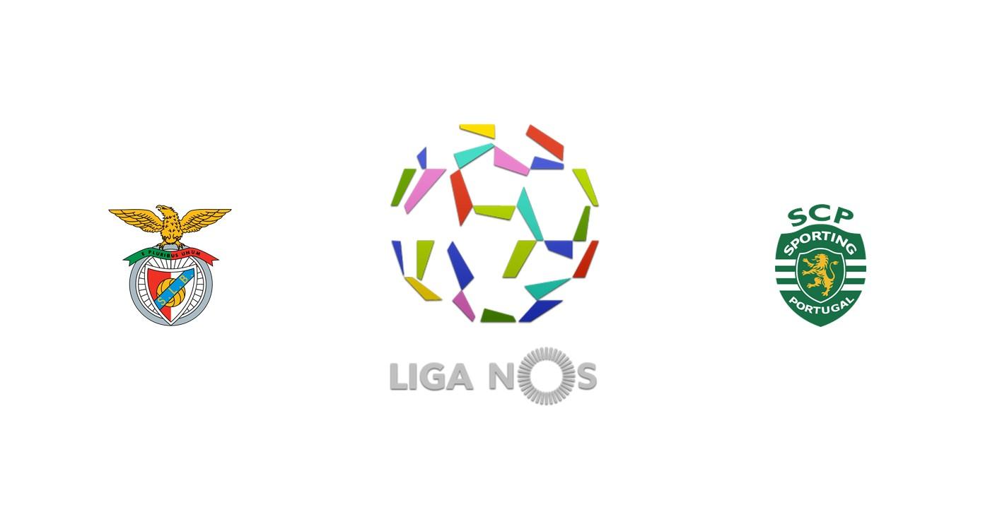 Benfica vs Sporting Lisboa Liga NOS