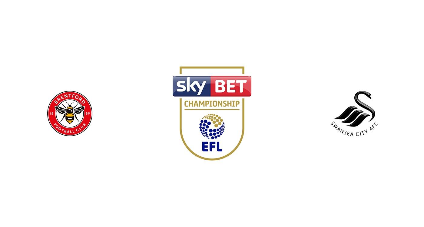 Brentford vs Swansea Championship