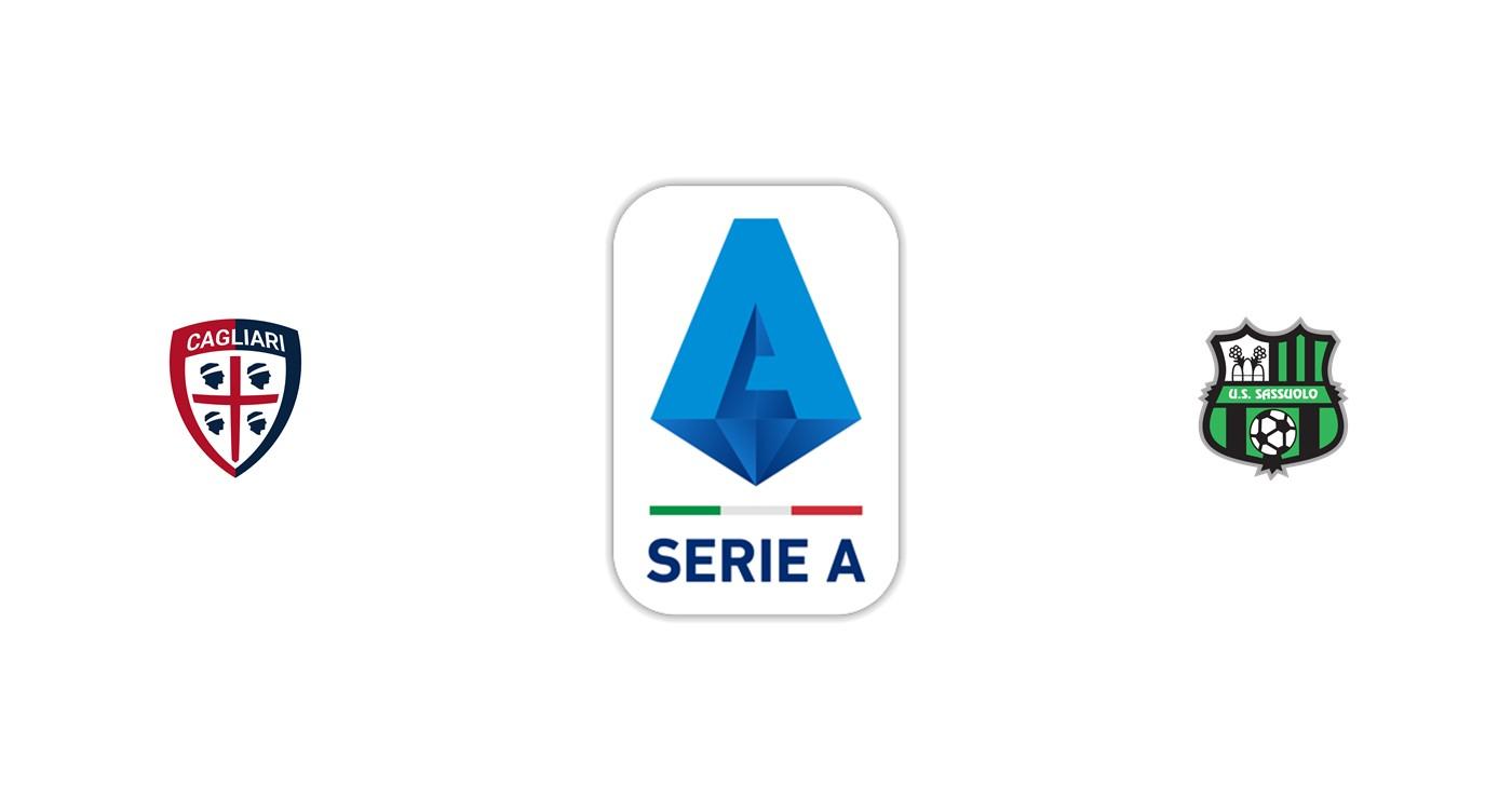 Cagliari vs Sassuolo Liga italiana