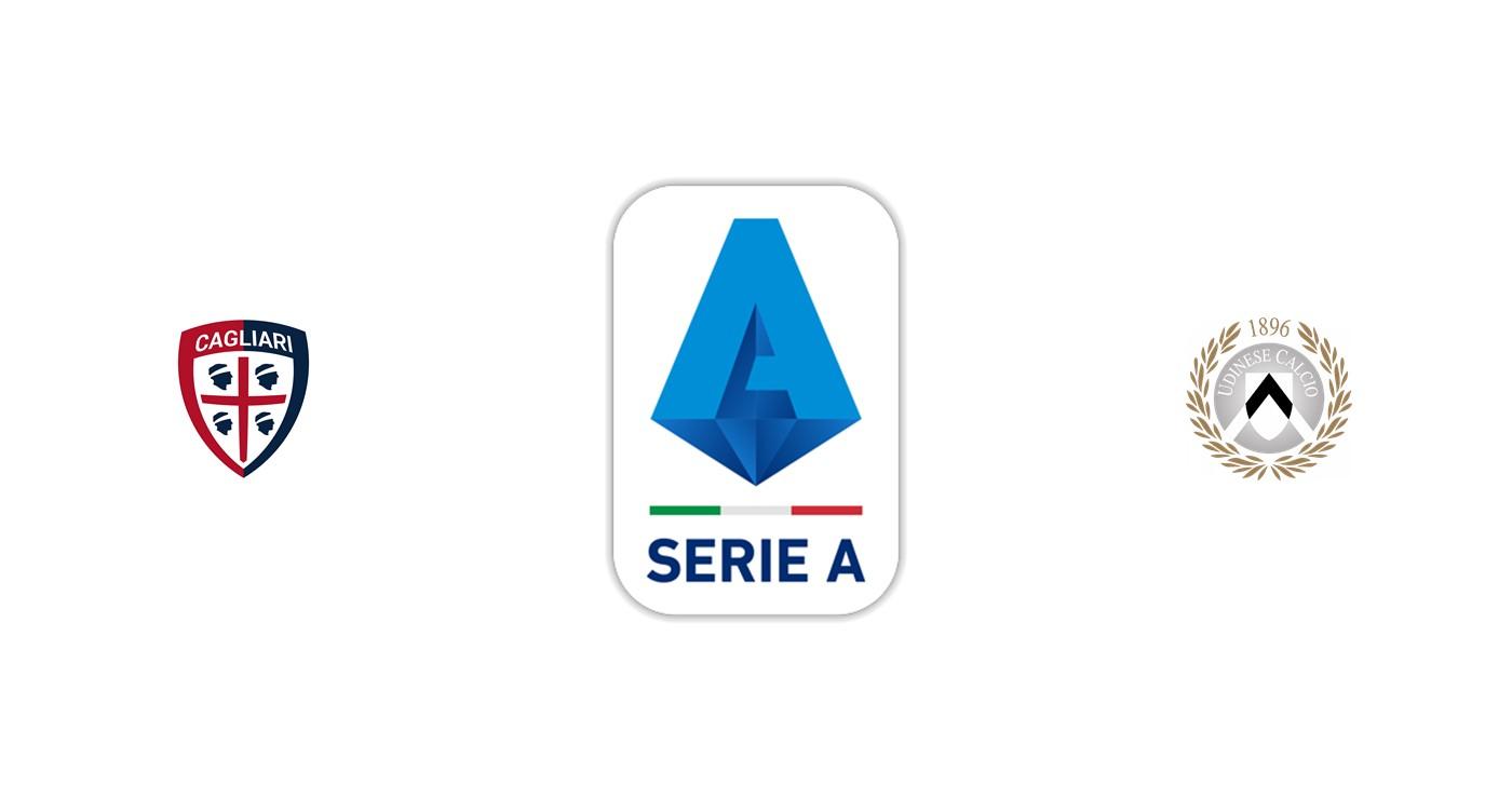Cagliari vs Udinese Liga italiana