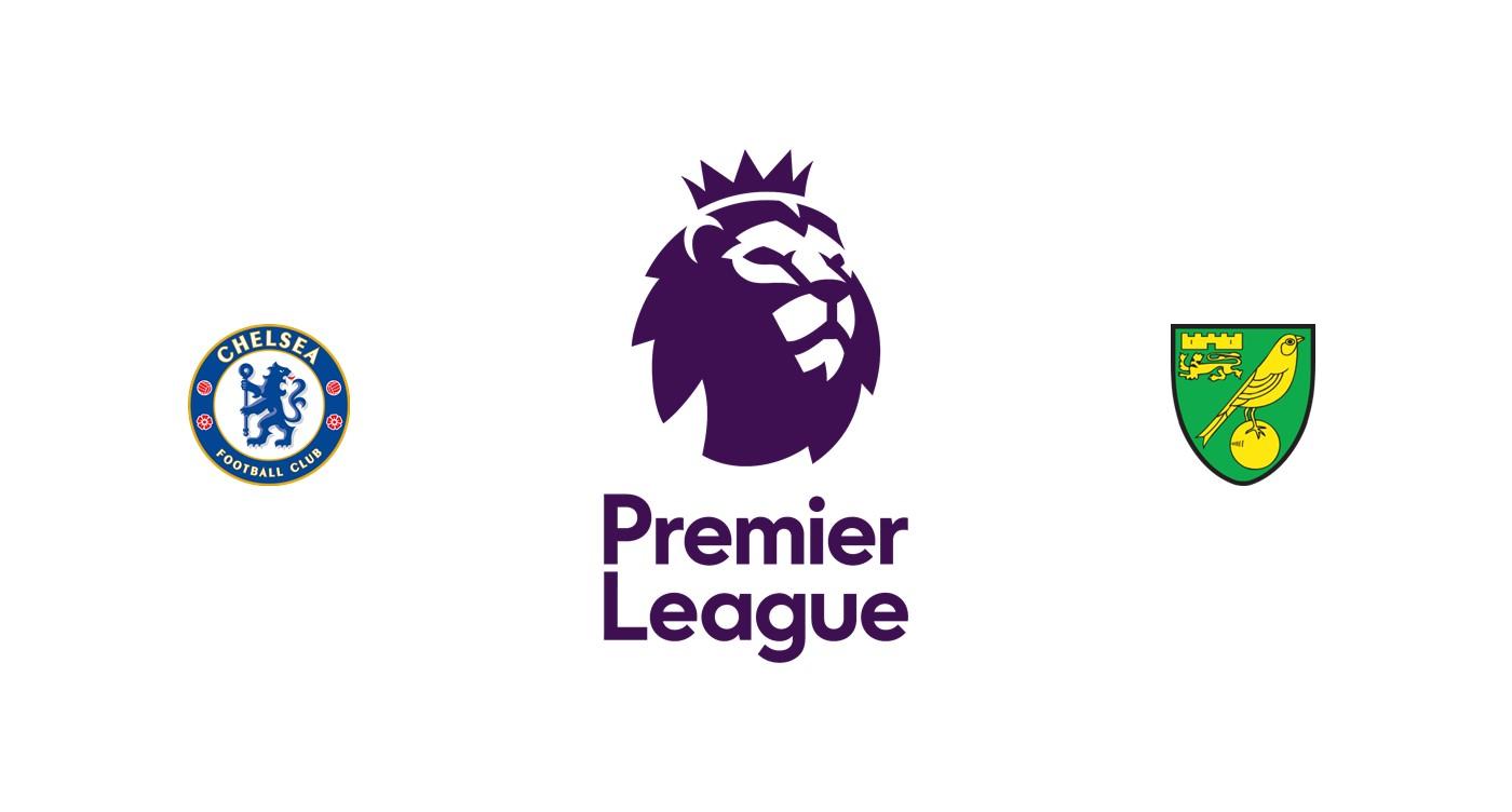Chelsea vs Norwich Liga inglesa