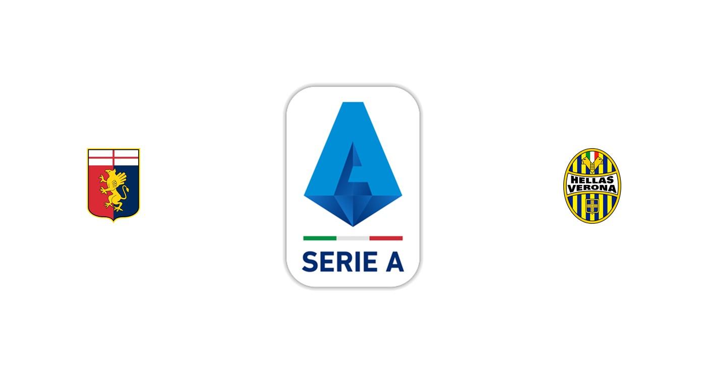 Genoa vs Hellas Verona Liga italiana