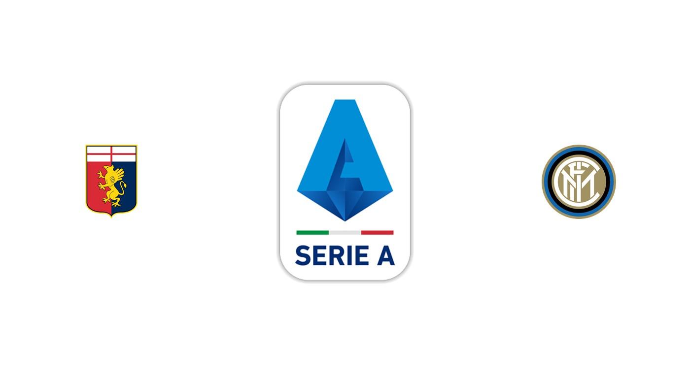 Genoa vs Inter Milán SerieA