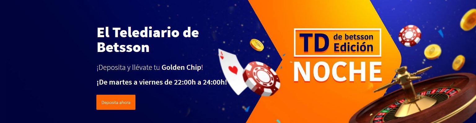 Golden Chip 5€ Betsson