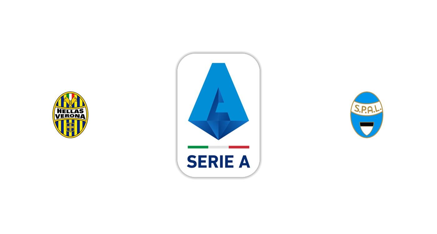 Hellas Verona vs Spal Serie A
