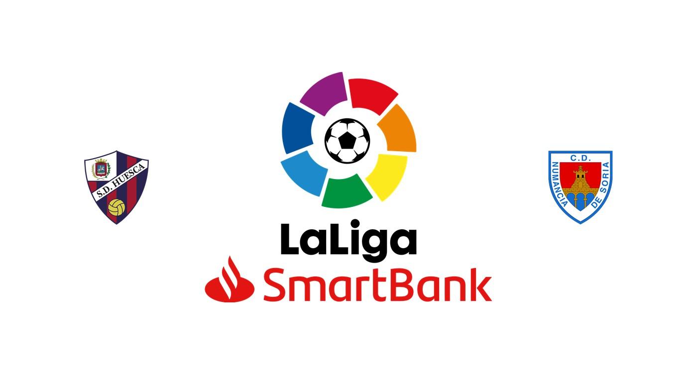 Huesca vs Numancia Segunda División española