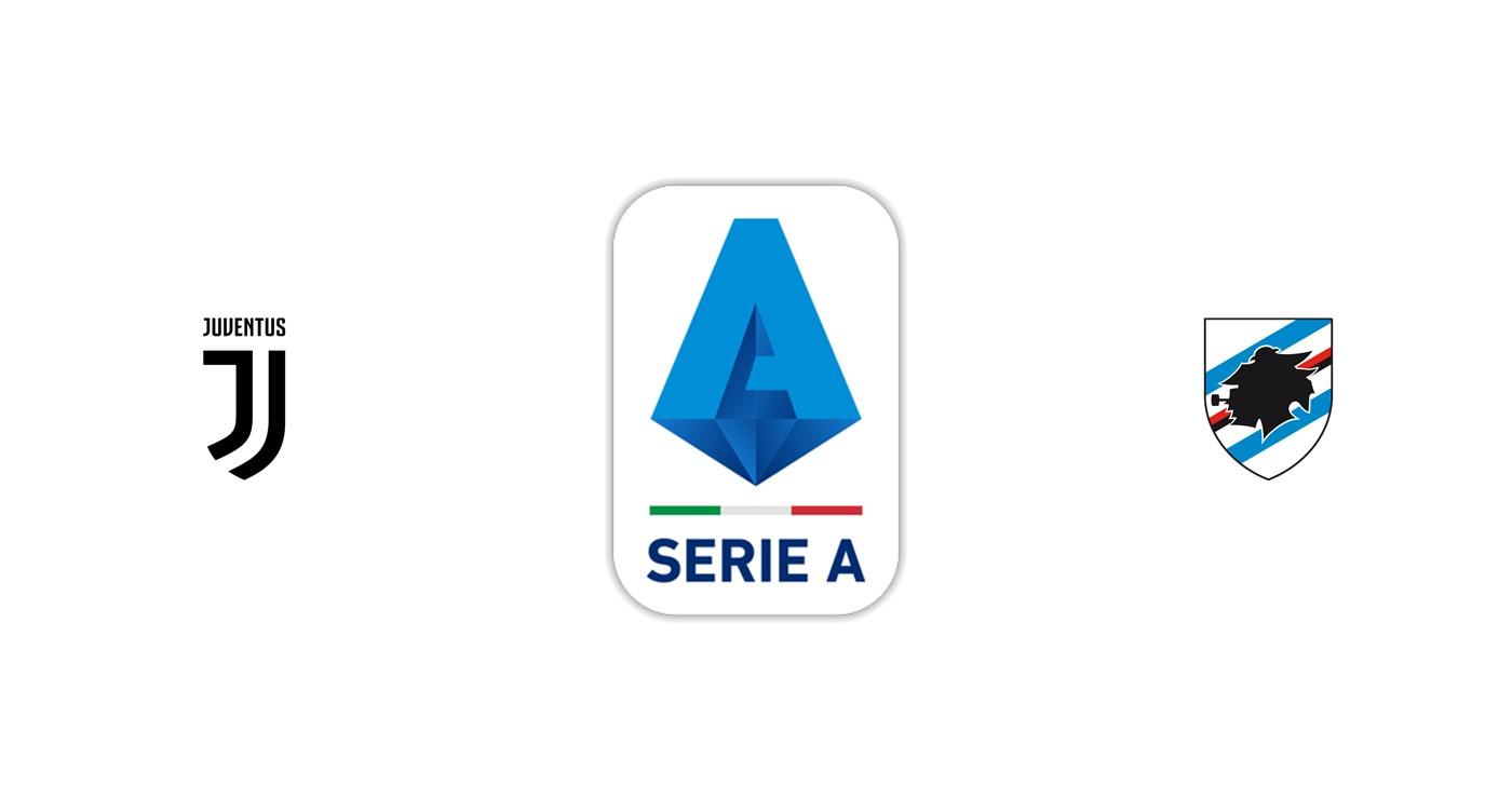Juventus vs Sampdoria Liga italiana
