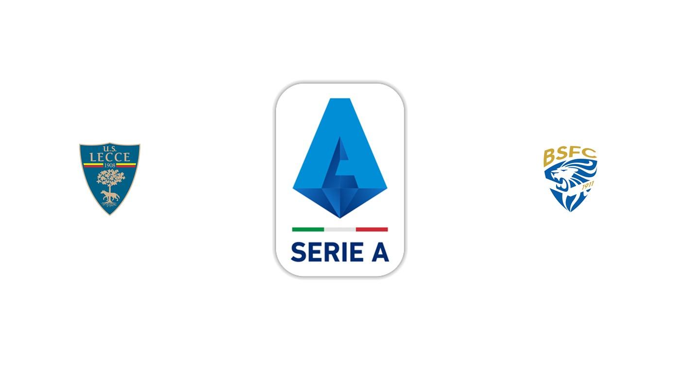 Lecce vs Brescia SerieA