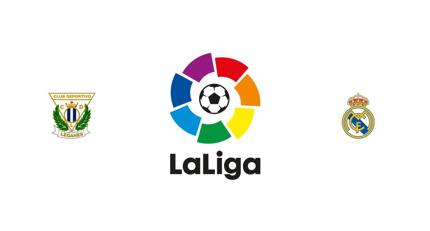 Leganés vs Real Madrid LaLiga