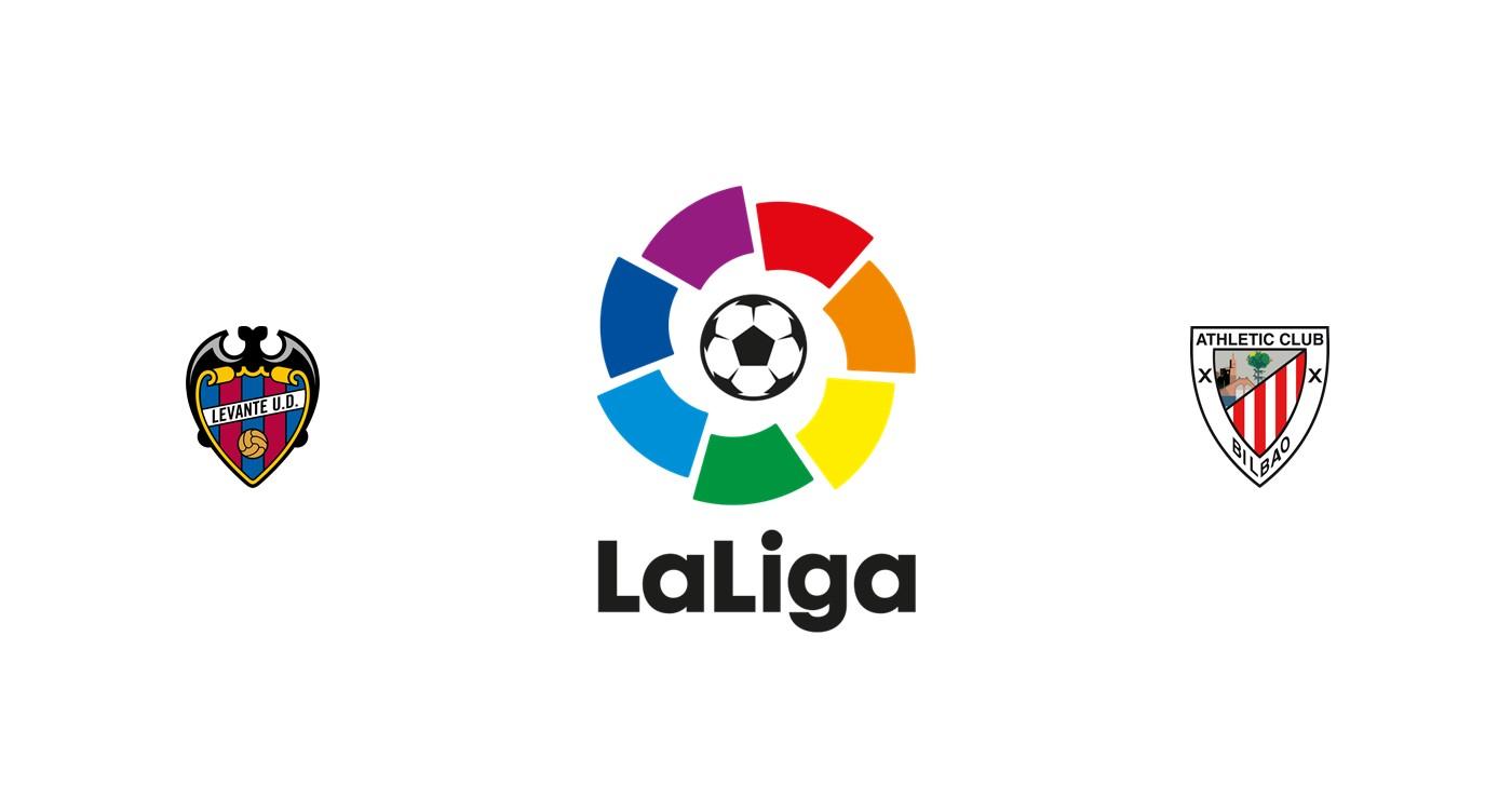 Levante vs Athletic Club Liga española