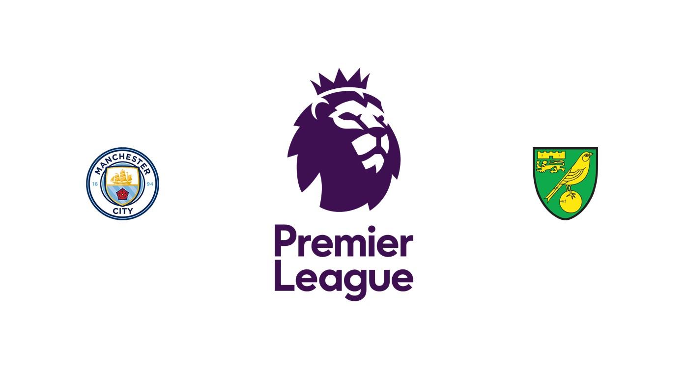 Manchester City vs Norwich Liga inglesa