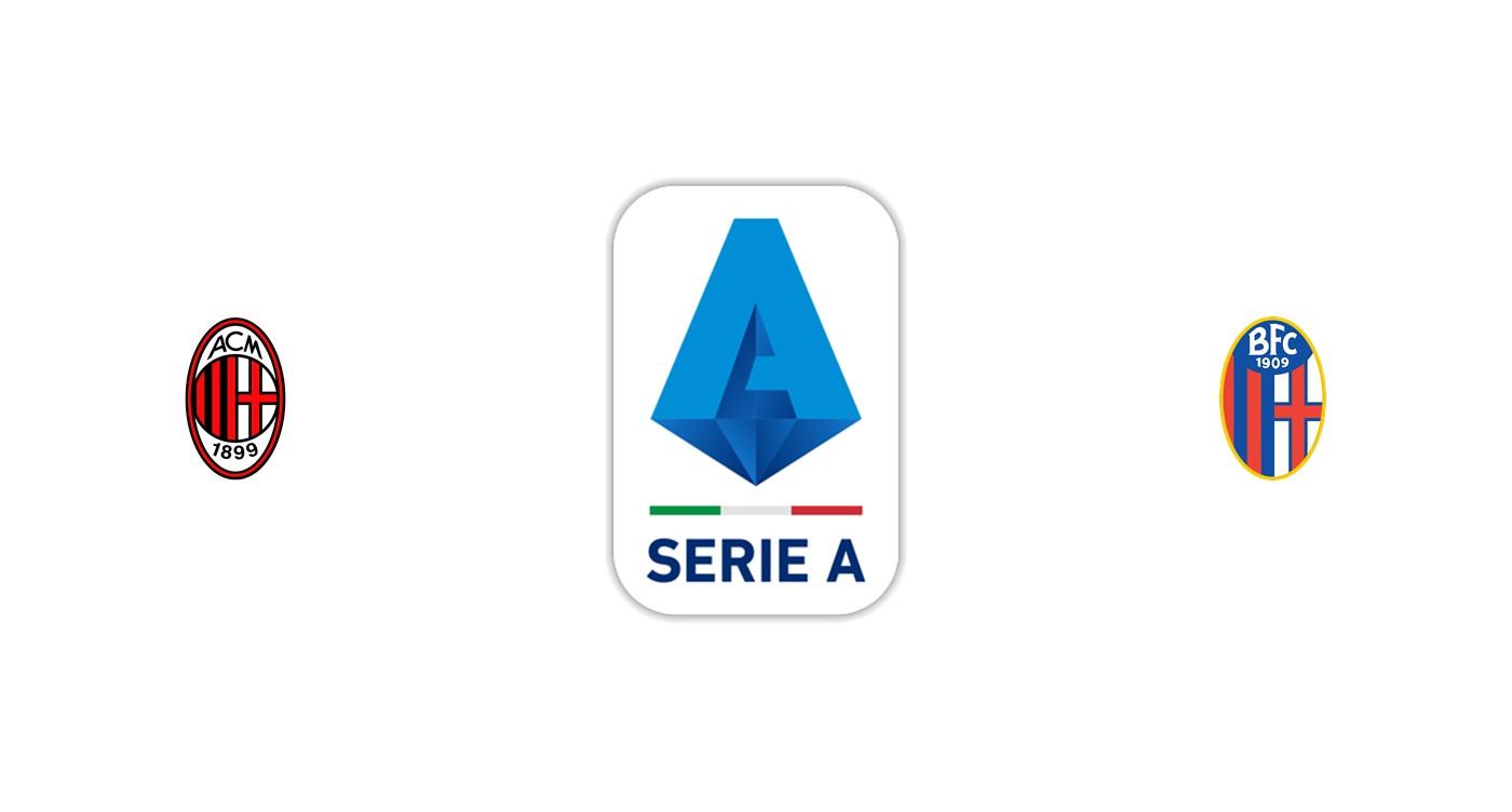 Milan vs Bolonia Liga italiana