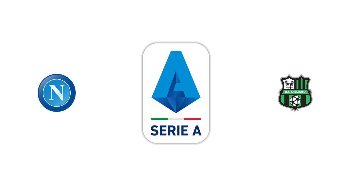 Nápoles vs Sassuolo SerieA