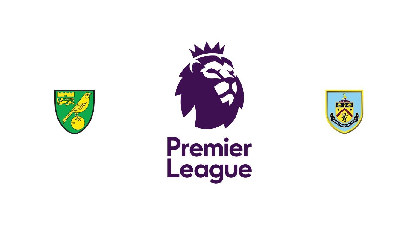 Norwich vs Burnley Premier League