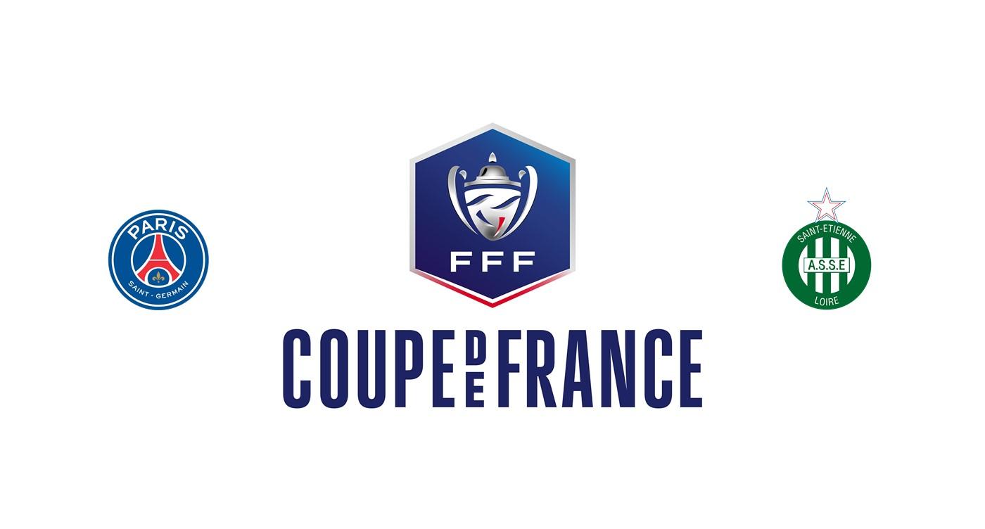 PSG vs Saint Etienne Copa francesa